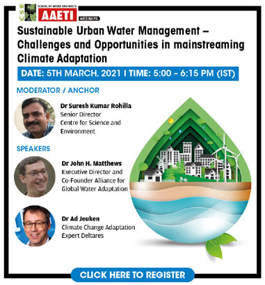Sustainable Urban Water Management
